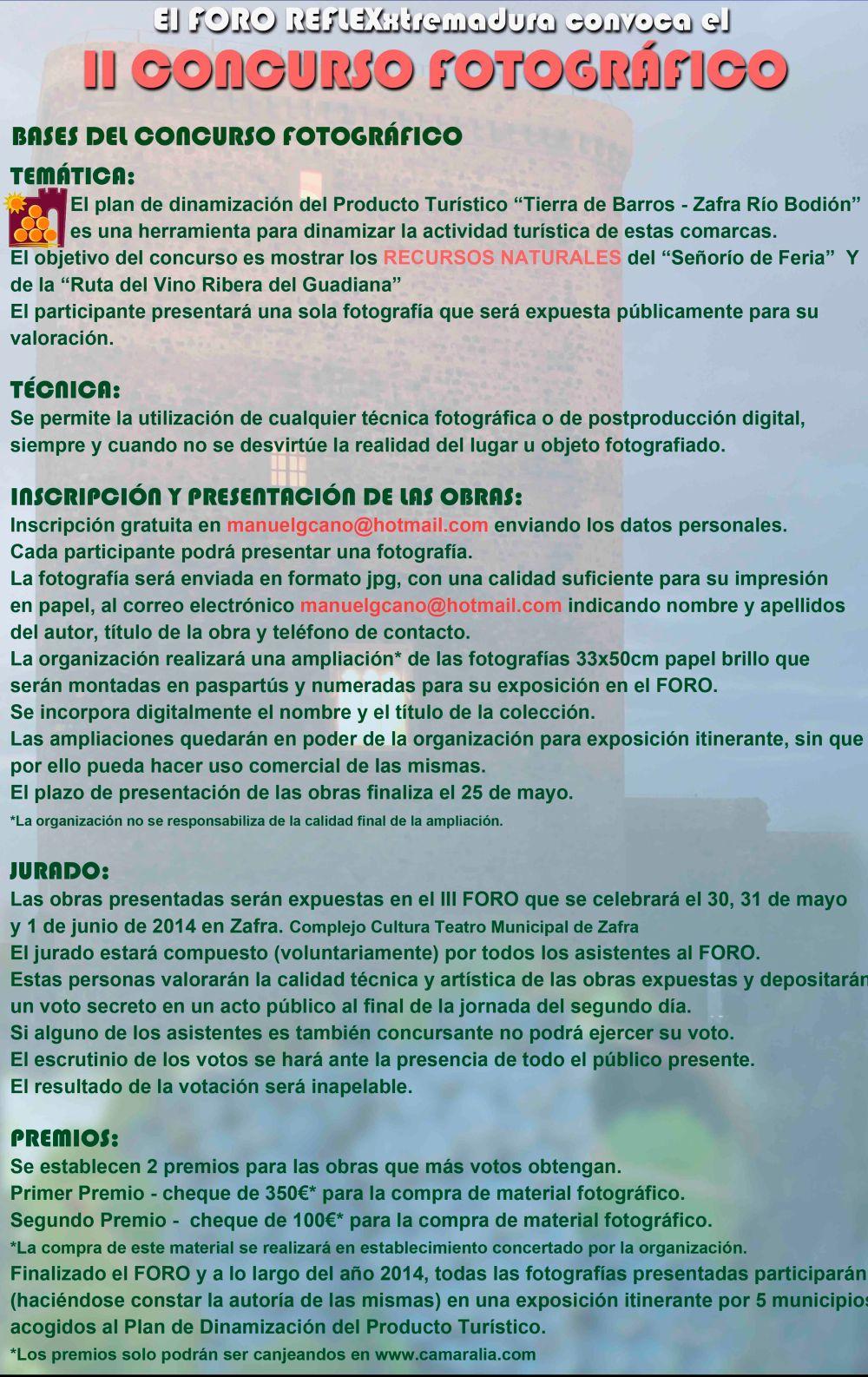 CARTEL II CONCURSO web